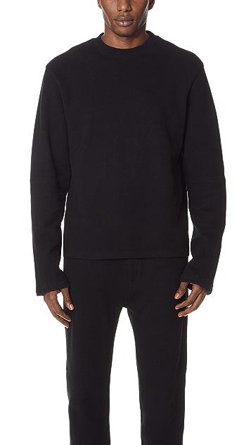 Helmut Lang Rib Detail Sweatshirt