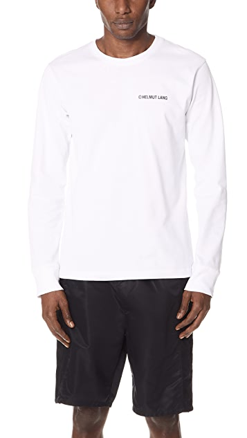 Helmut Lang Long Sleeve Taxi Tee
