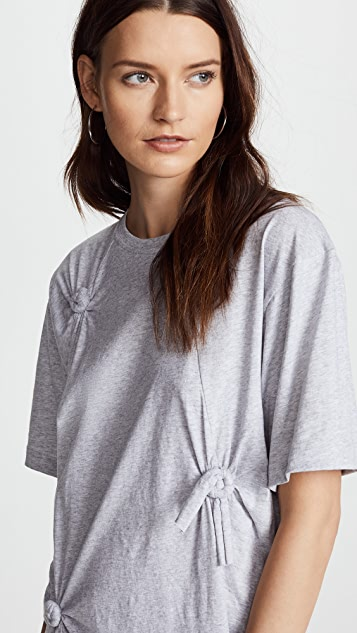 Helmut Lang Knot Detail Oversized Tee
