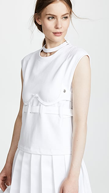 Helmut Lang Bra Pullover Dress