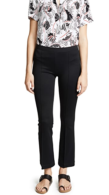 Helmut Lang Flared Rib Leggings