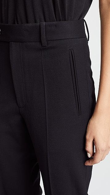 Helmut Lang Front Slit Suit Pants