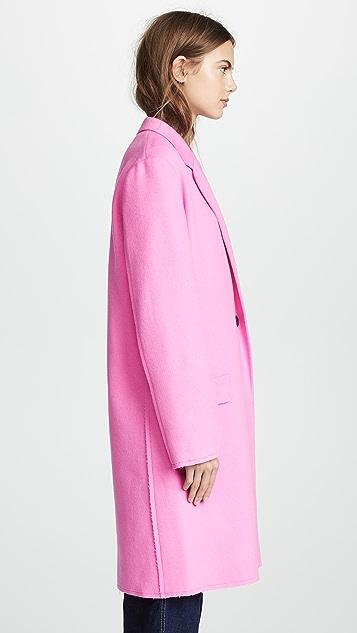 Helmut Lang Doubleface Blazer Coat