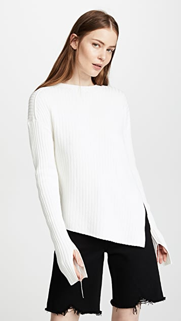Helmut Lang Twisted Crew Sweater