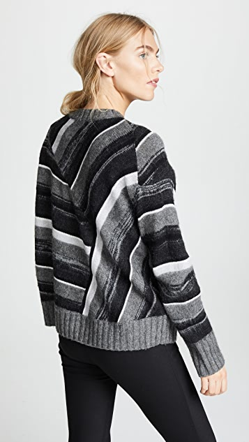 Helmut Lang Ombre Crew Neck Sweater