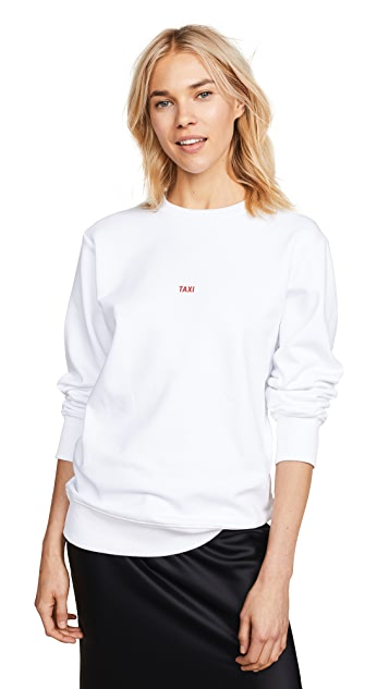 Helmut Lang Paris Taxi Sweatshirt