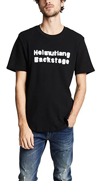 Helmut Lang Re-Edition Backstage Print Tee