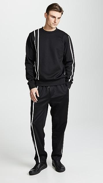 Helmut Lang Sport Stripe Pants