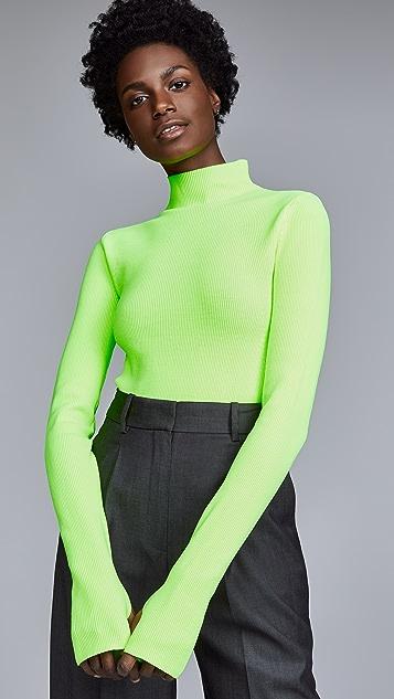 Helmut Lang Mock Neck Pullover