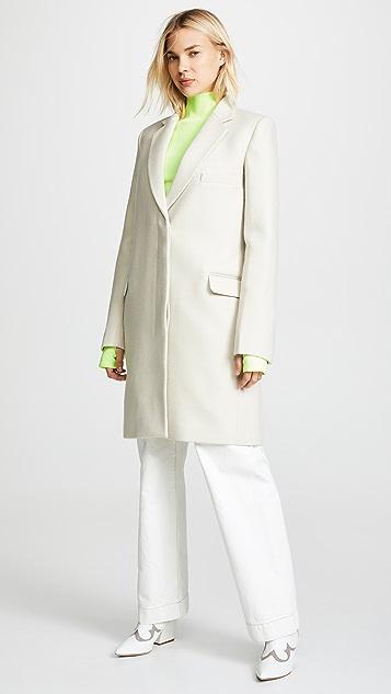 Helmut Lang Essential Crombie Coat