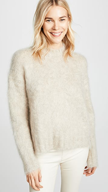 3f9a1f4427a187 Helmut Lang Brushed Crew Neck Pullover | SHOPBOP