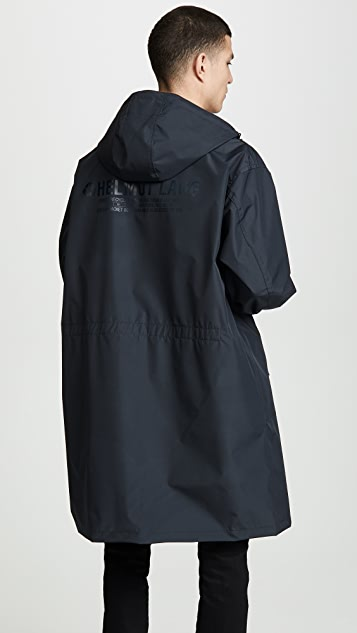 Helmut Lang Hooded Raincoat