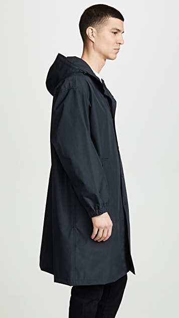 Helmut Lang Hooded Raincoat