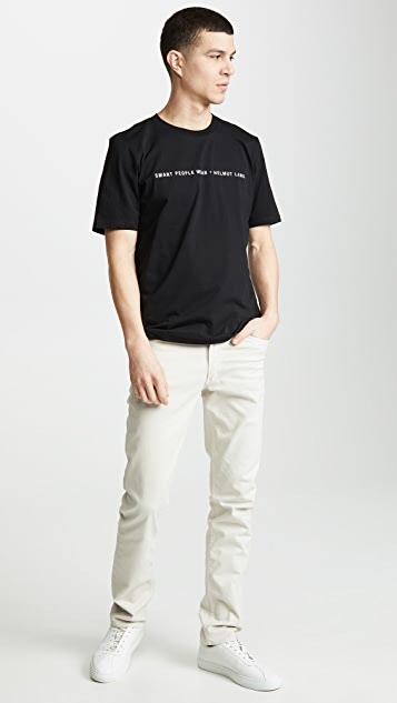Helmut Lang Smart People Tee