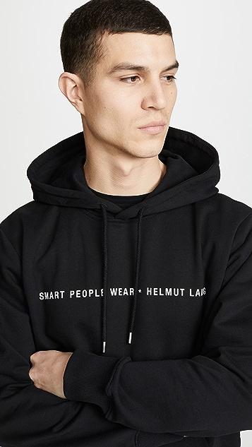 Helmut Lang Smart People Hoodie