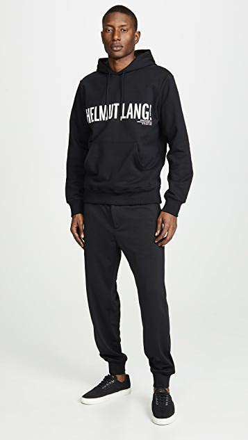 Helmut Lang Exclamation Hoodie
