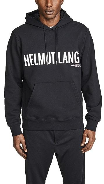 Helmut Lang Exclamation Hoodie