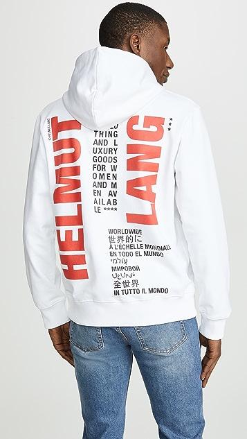Helmut Lang Worldwide Hoodie