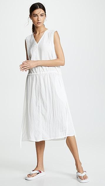 Helmut Lang Прозрачное платье Parachute