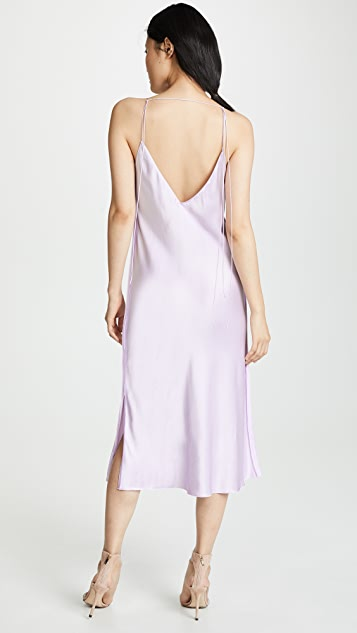 Helmut Lang Raw Detail Slip Dress