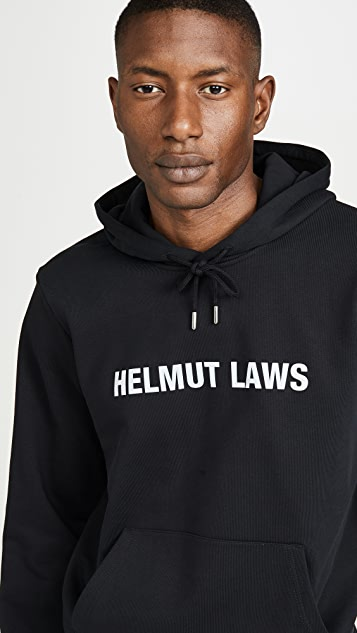 Helmut Lang Helmut Lang Laws Pullover Hoodie