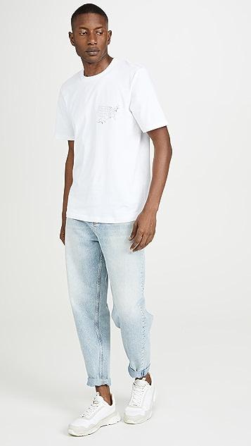 Helmut Lang Helmut Lang Laws Short Sleeve Tee Shirt