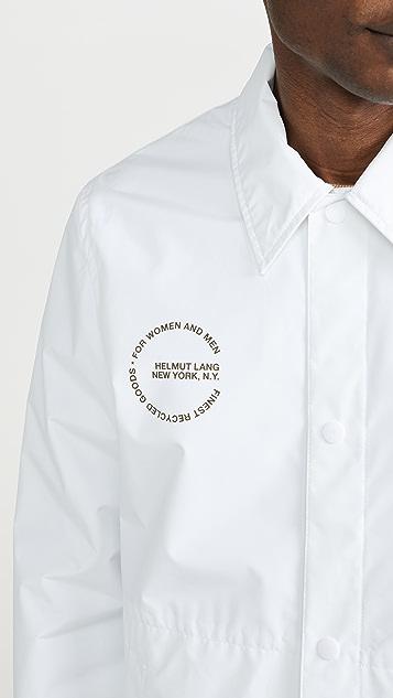 Helmut Lang Circle Logo Stadium Jacket