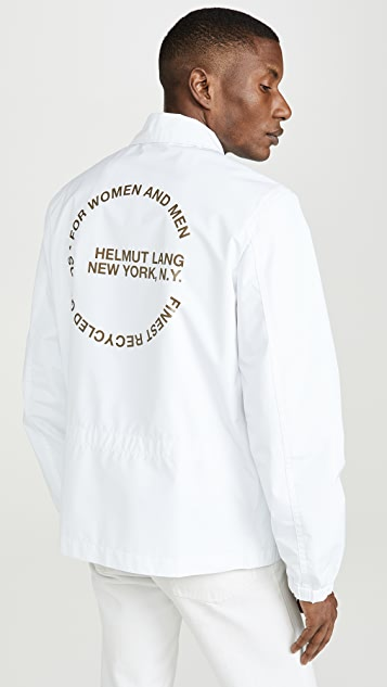 Helmut Lang Circle Logo Stadium Jacket