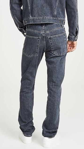 Helmut Lang Masc High Straight Jeans