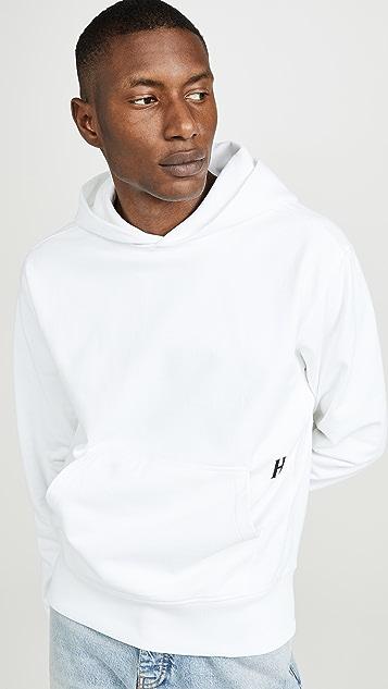Helmut Lang Big Logo Standard Pullover Hoodie