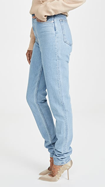 Helmut Lang Femme High Spikes Jeans