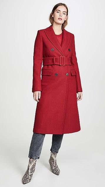 Helmut Lang Coats Double Breasted Coat