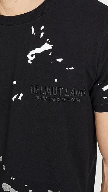 Helmut Lang Short Sleeve Painter Tee