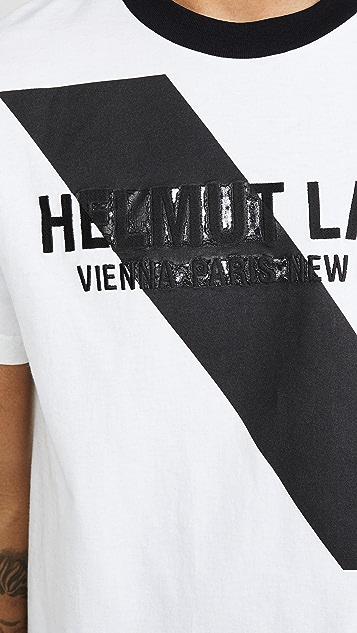 Helmut Lang Standard Short Sleeve Tee