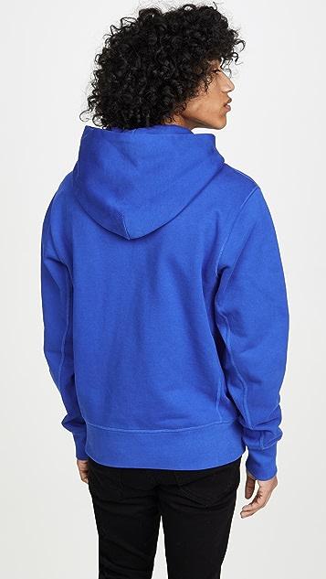 Helmut Lang Long Sleeve Standard Hoodie