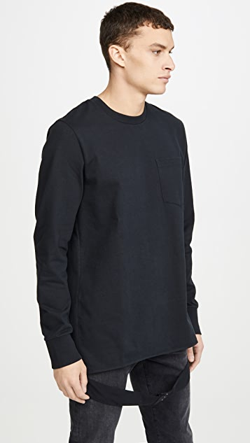Helmut Lang Long Sleeve Masc Belt Tee
