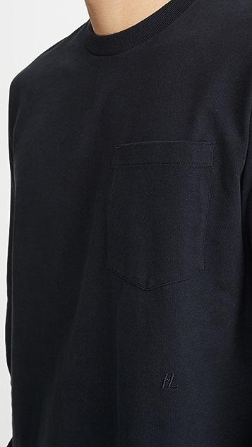 Helmut Lang Long Sleeve Masc Belt Tee