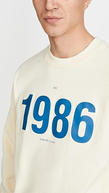 Helmut Lang 1986 Masc Crew Neck Sweatshirt