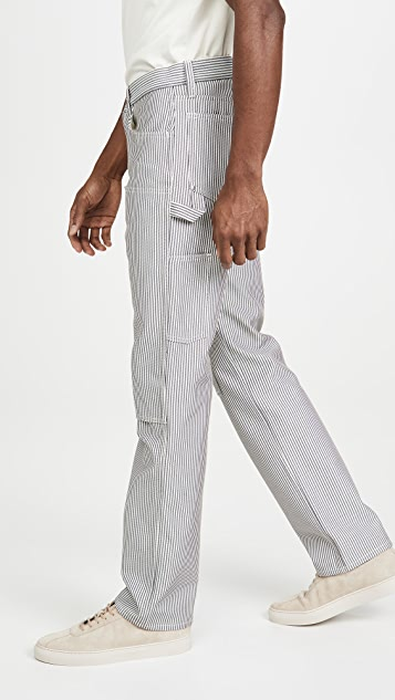 Helmut Lang Masc Lo Striped Utility Pants