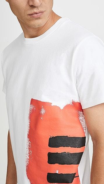 Helmut Lang Short Sleeve Masc Josephine Little T-Shirt