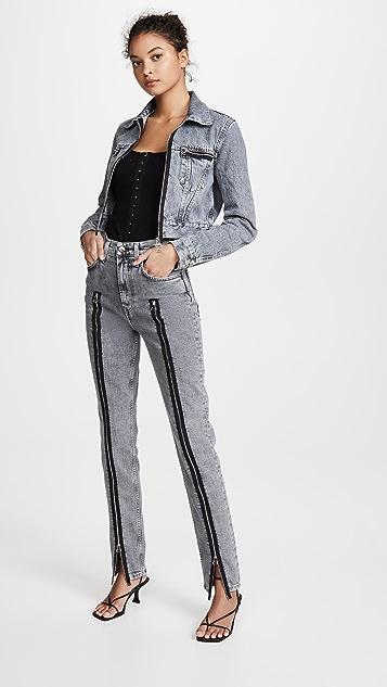 Helmut Lang Femme Hi Spikes 牛仔裤