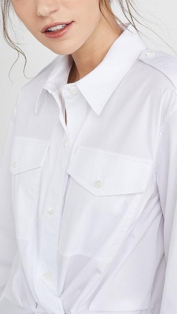 Helmut Lang Knot Shirt