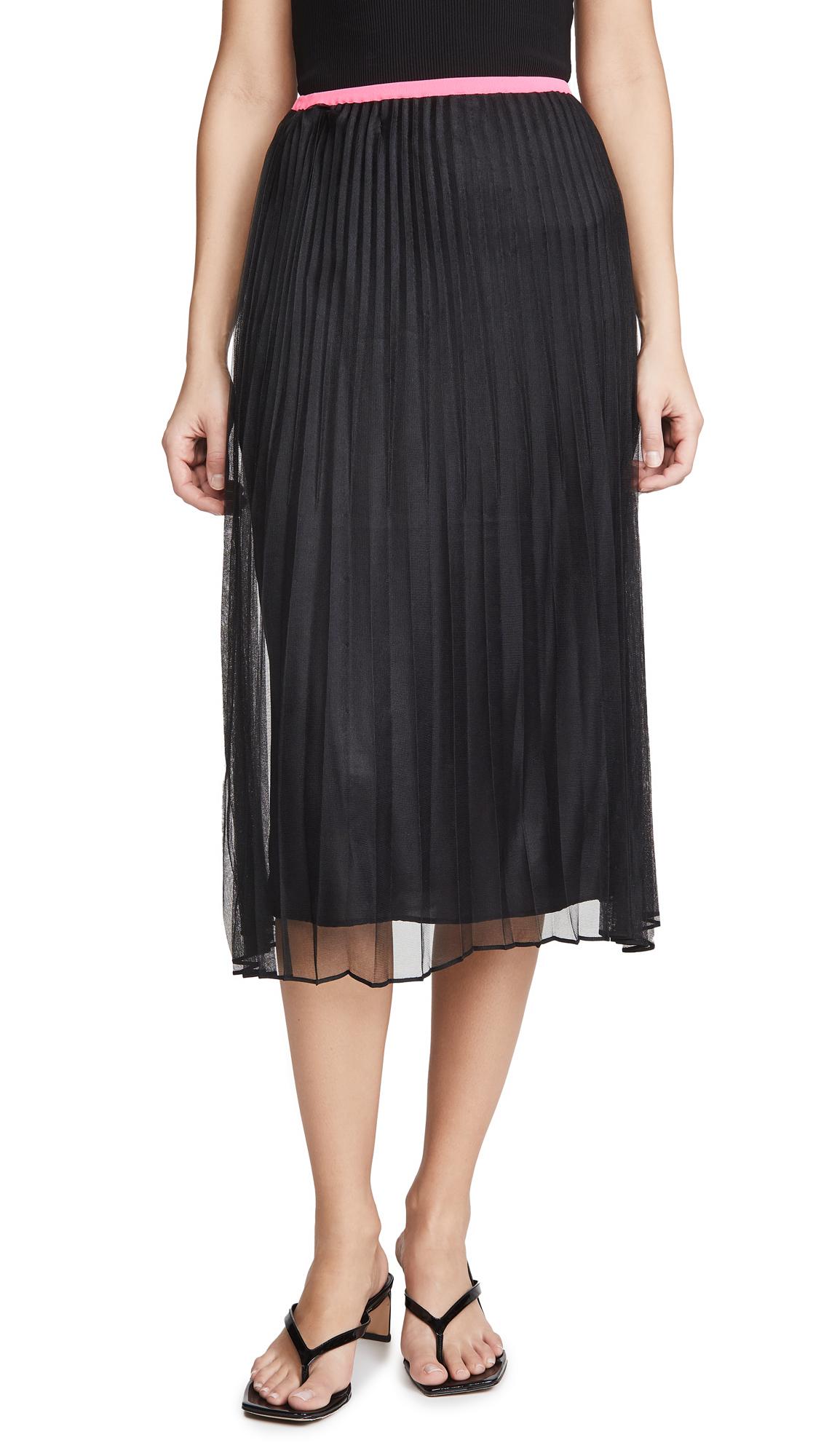 Helmut Lang Pleat Skirt