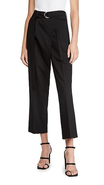 Helmut Lang Crop Wrap Pants