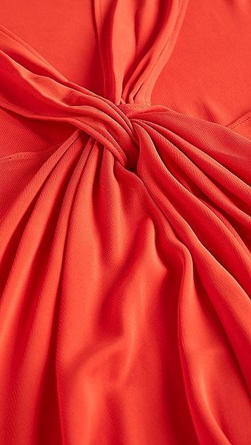 Helmut Lang 背面扭褶连衣裙