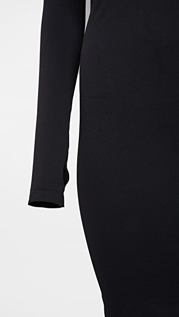 Helmut Lang Back Cutout Dress