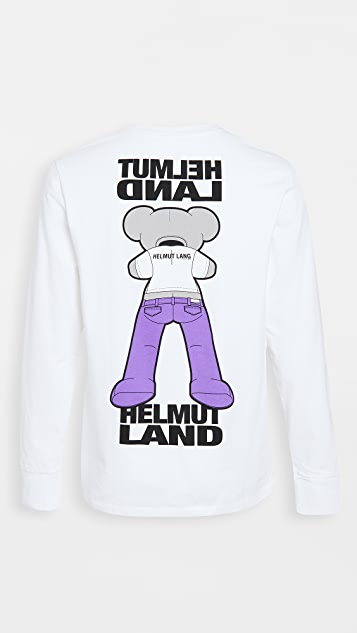Helmut Lang PZ Mascot Pocket Long Sleeve Tee