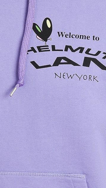 Helmut Lang PZ Map Pullover Hoodie