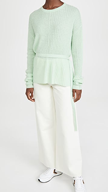Helmut Lang Strap Crew Sweater