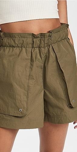 Helmut Lang - Paperbag 短裤